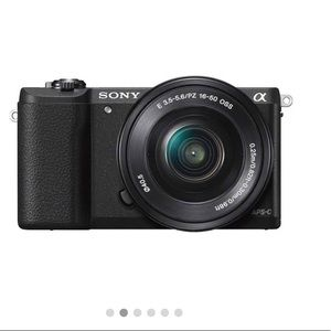 Sony alpha 5100 - comes with lens and battery